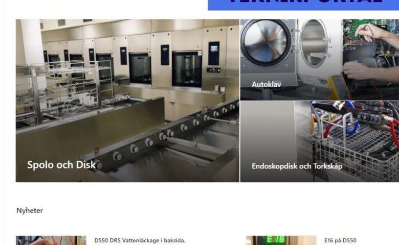 AD MediCals Teknikportalen - Autoklaver, Diskdesinfektorer m.m.